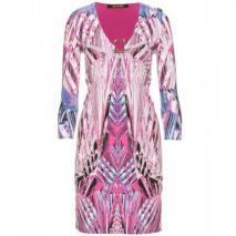 Roberto Cavalli Kleid Mit Graphischem Print