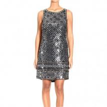 Roberto Cavalli Sleeveless embroidery dress