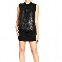 Roberto Cavalli Sleeveless maxi sequin bustier dress