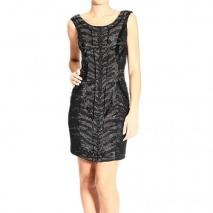 Roberto Cavalli Sleeveless silk embroideries dress