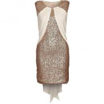 Sass & Bide The Wonderlust Cocktailkleid / festliches Kleid cream/gold