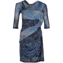 See by Chloé Jerseykleid blau