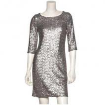 Set Kleid Silber