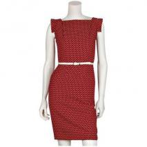 Single Dress Etuikleid Rot