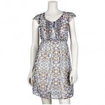 S.Oliver Selection Kleid Schmetterlinge
