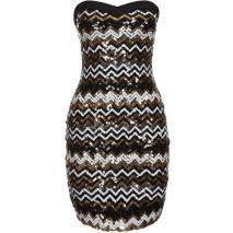 Starlet Cocktailkleid / festliches Kleid black/gold