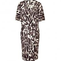 Steffen Schraut Wildlife Silk Miami V Dress