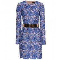 Stella McCartney Besticktes Kleid Mit Gürtel