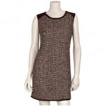 Stills Tweed-Kleid Rot