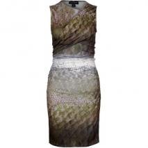 stylestalker Sedgwick Drape Cocktailkleid / festliches Kleid snake