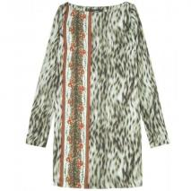 Suno Tunika Mit Animal-Print
