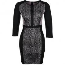 Supertrash Dylion Cocktailkleid / festliches Kleid mink/black