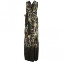 Supertrash Maxikleid dipped snake