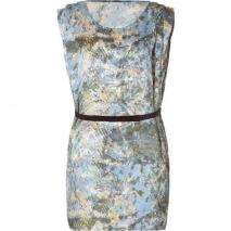 Surface to Air Multicolor Printed Fold Dress With Belt