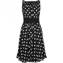 Swing festliches Kleid black/white