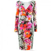 Talbot Runhof White Multi Print Dress Vodice 3