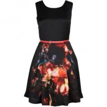 Ted Baker Marinka Cocktailkleid / festliches Kleid black