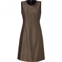 Theyskens Theory Golden Multicolor Woven Daxie Faize Dress