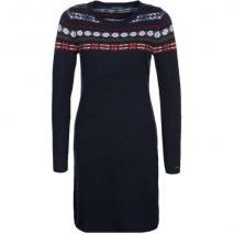 Tommy Hilfiger Perry Fairisle Strickkleid midnight/multi