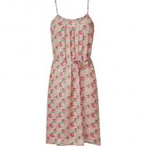 Tucker Red and Pink Floral Print Cami Dress