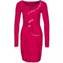 Twin Set Jerseykleid rosa shock scuro