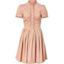 Valentino R.E.D. Cameo Lace Trimmed Dress