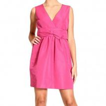 Valentino Sleeveless v neck bow dress