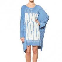Vivienne Westwood Anglomania Übergroßes Jerseykleid Mit Anglomania-Druck