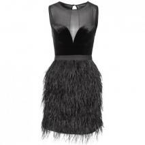 Warehouse Cocktailkleid / festliches Kleid schwarz