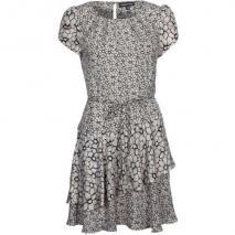 Warehouse Pretty Mix Floral Dress Jerseykleid beige schwarz