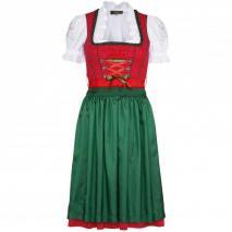 Wiesnkönig Dirndl Lena Rot-Grün
